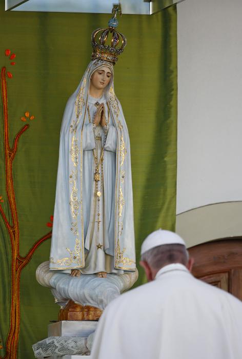 Papst Heiligtum Fatima