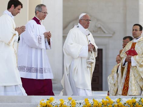 Papst Messe Fatima