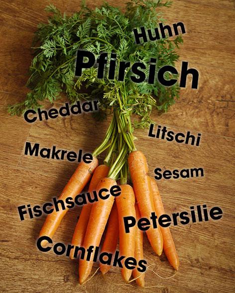Food Pariring Karotten