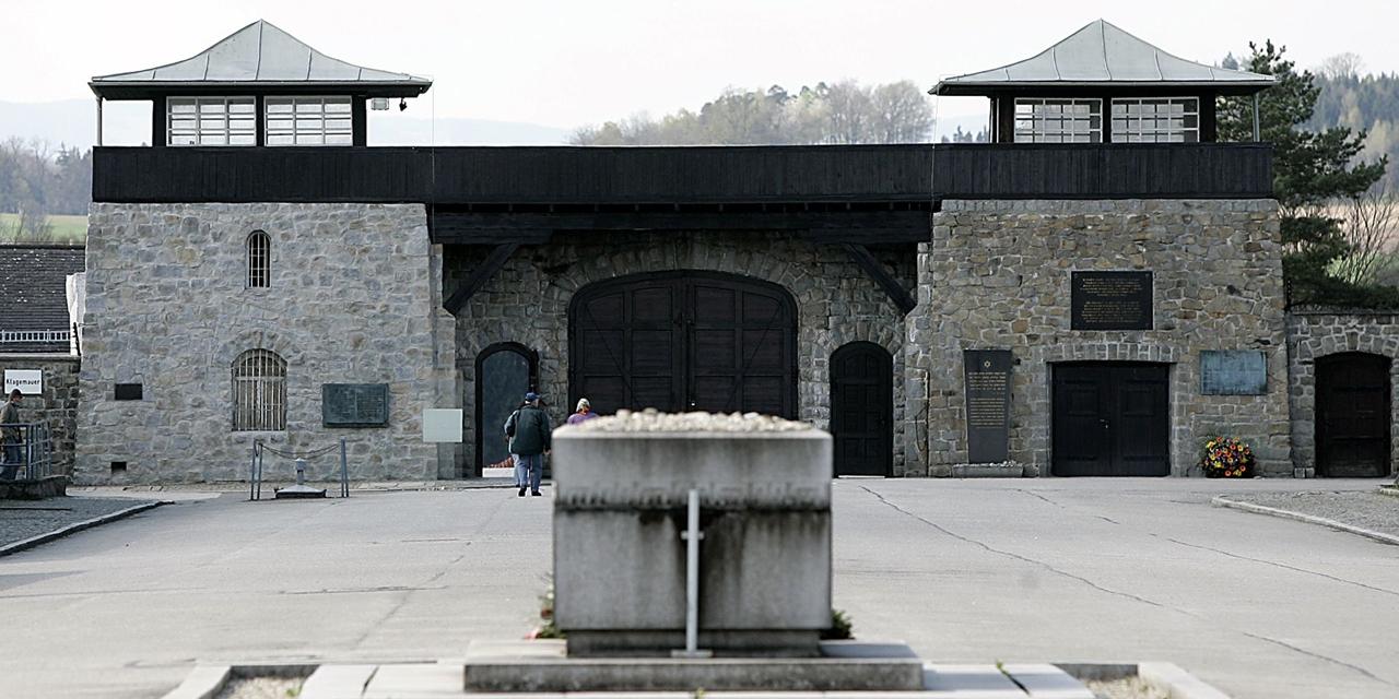 Das Tor des KZ Mauthausen
