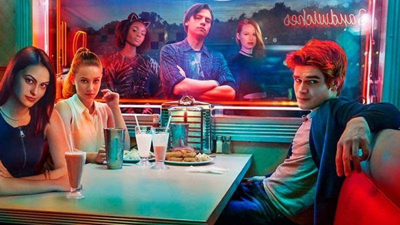 Junge Menschen in einem Diner