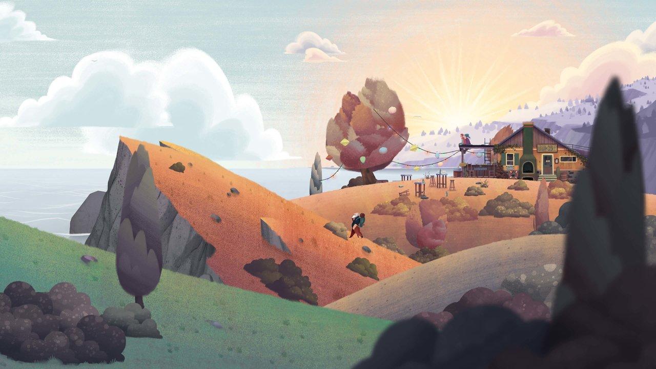 """Blühende Landschaften aus """"Old Man's Journey"""""""