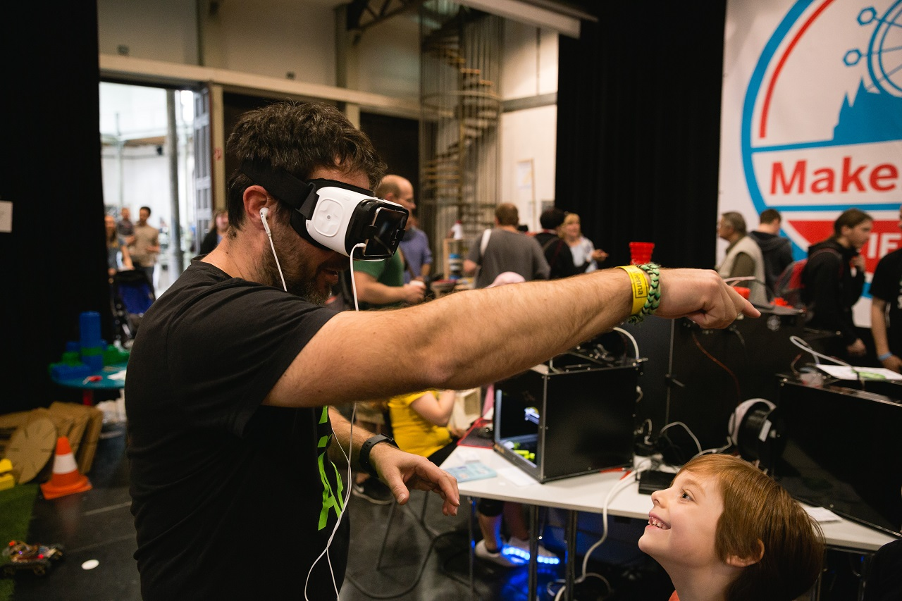 VR auf der Maker Faire