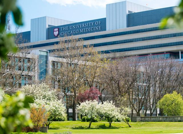 Klinikgebäude der Universität Chicago