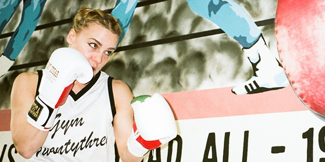 Boxweltmeisterin Wesner