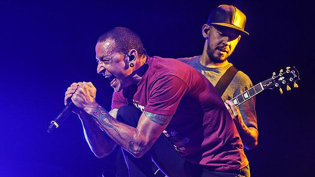 Linkin Park auf der Bühne