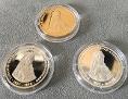 Medaillen der Firma Münzkontor