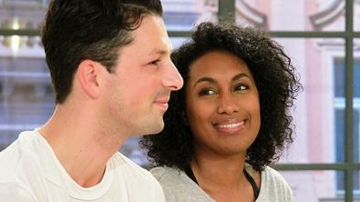 Ana Milva und Thomas beim Paarinterview