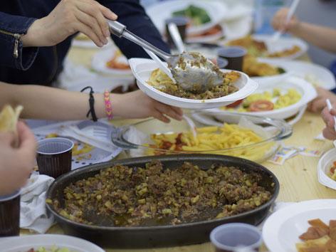 Iftar-Essen