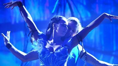 Das Siegerpaar der siebenten Staffel: Sängerin Petra Frey und Vadim Garbuzov