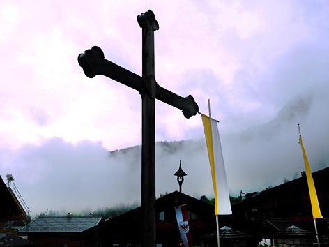 Kirche in Alpbach, Tirol