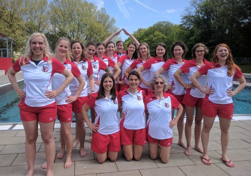 Das Unterwasser Rugby Nationalteam
