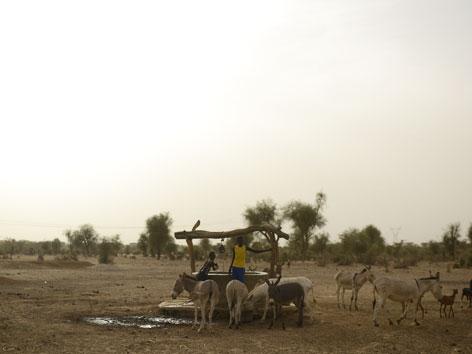 Ein Brunnen in Afrika