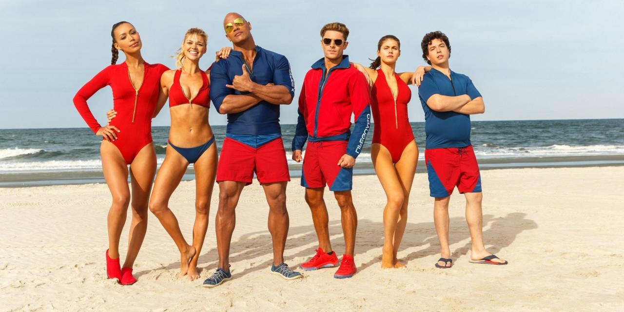 Der Cast von Baywatch dem Film