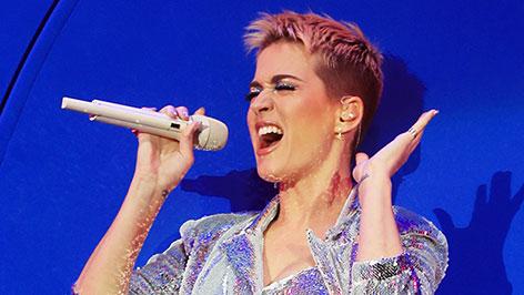 Katy Perry auf der Bühne