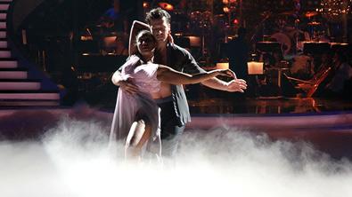 Ana Milva und Thomas beim Contemporary Tanz