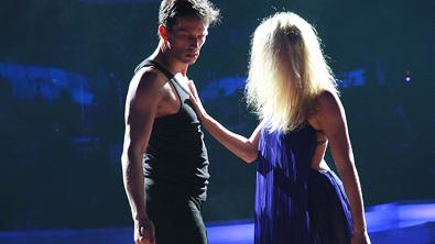 Martin und Maria beim Contemporary Tanz