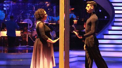 Riem und Mitko beim Contemporary Tanz