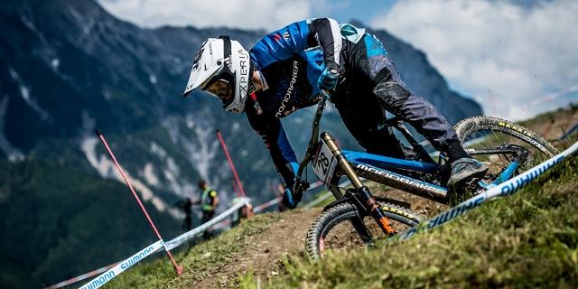 Markus Pekoll in Action am Mountainbike