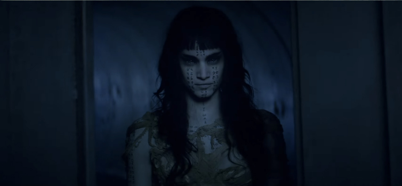 "Sofia Boutella in ""the Mummy"""