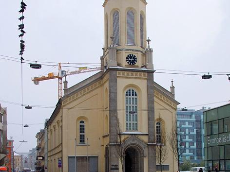 Die Martin-Luther-Kirche in Linz