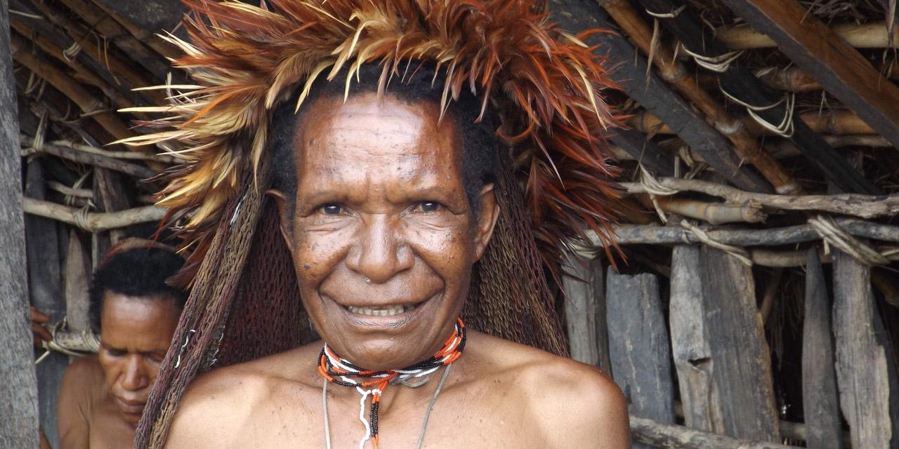 Menschen in Papua