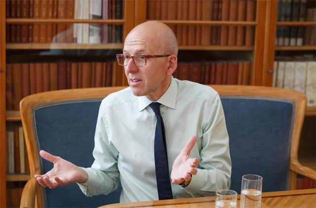 Heinz Bude im Gespräch