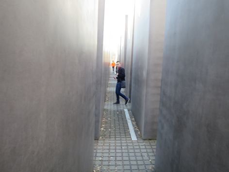 Bühne oida: berlin holocaust mahnmal