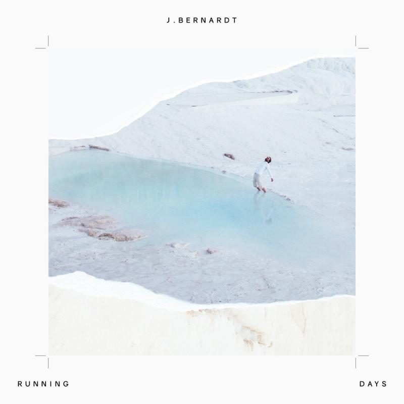 "Plattencover von J. Bernardts Debütalbum ""Running Days""."