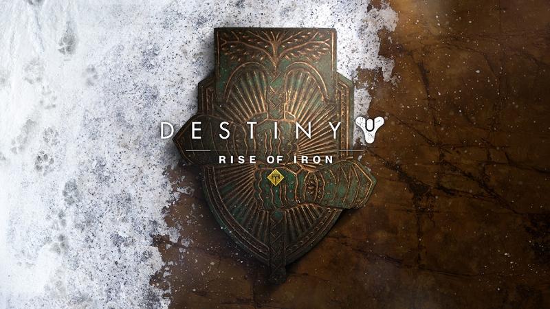 "Titel von ""Destiny: Rise of Iron"""