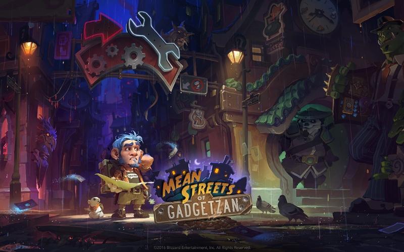 """Titelbild von """"Hearthstone: Mean Streets of Gadgetzan"""""""