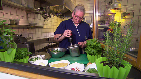 Küchenchefin Daniela Cilek