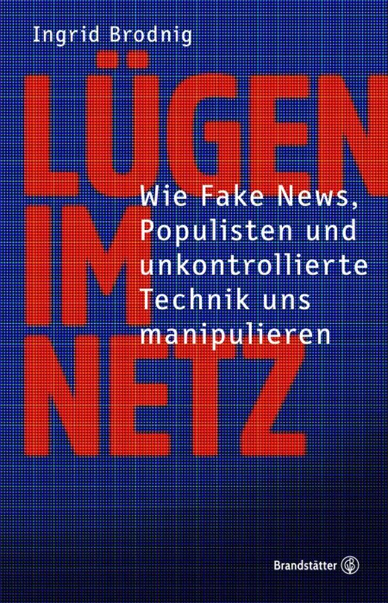Blaues Buchcover mit roter Schrift