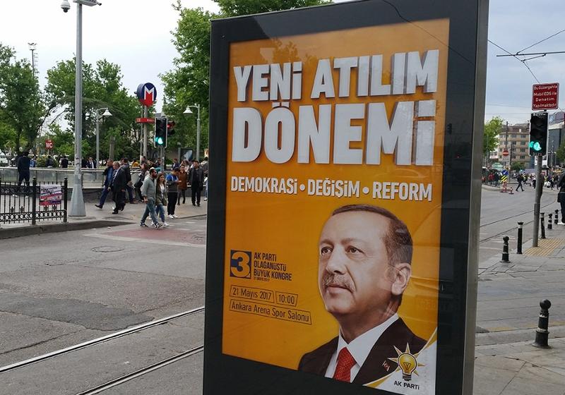 Erdogan-Plakat