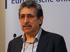 Héctor Córdova bei der Veranstaltung in Wien
