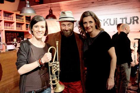 DENK mit KULTUR  Thomas Gansch und Pia Hierzegger