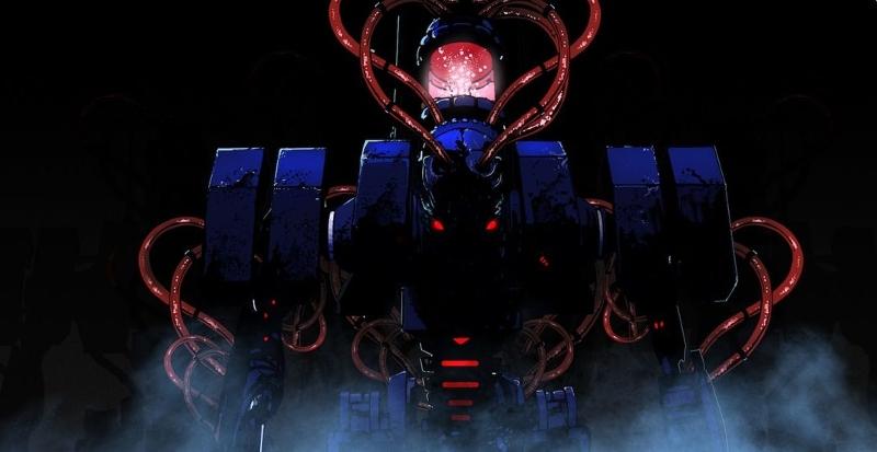 """Concept Art """"The Giant"""" zum Videospiel """"Nex Machina"""""""