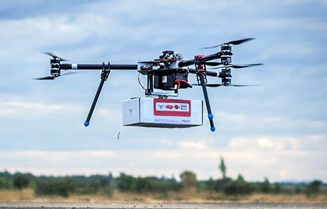 Unicef-Drohne