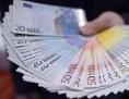 Fächer von Euroscheine