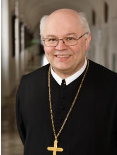 Portrait von Abt Petrus Pilsinger
