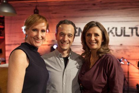 DENK mit KULTUR  Adrian Eröd und Nicole Beutler