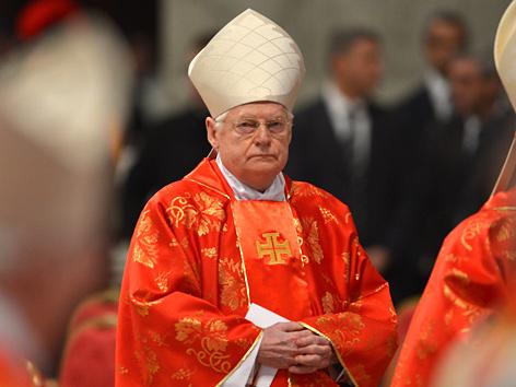 Der Mailänder Erzbischof Angelo Scola