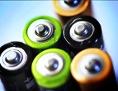 AAA-Batterien von oben