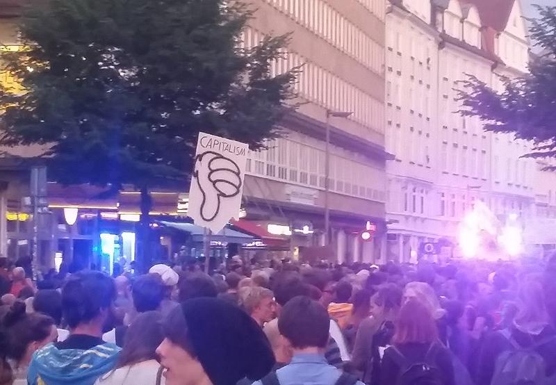 Proteste beim G20 Gipfel in Hamburg