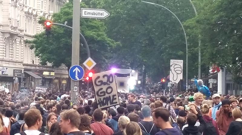 Demo gegen G20 Gipfel