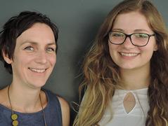 Alexandra Schebesta und Isabella Hübscher
