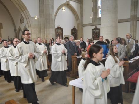 Ministrantinnen und Ministranten Elisabeth Kirche