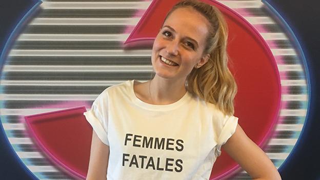 Ö3-Reporterin Tina Ritschl präsentiert die Modetrends 2017/18