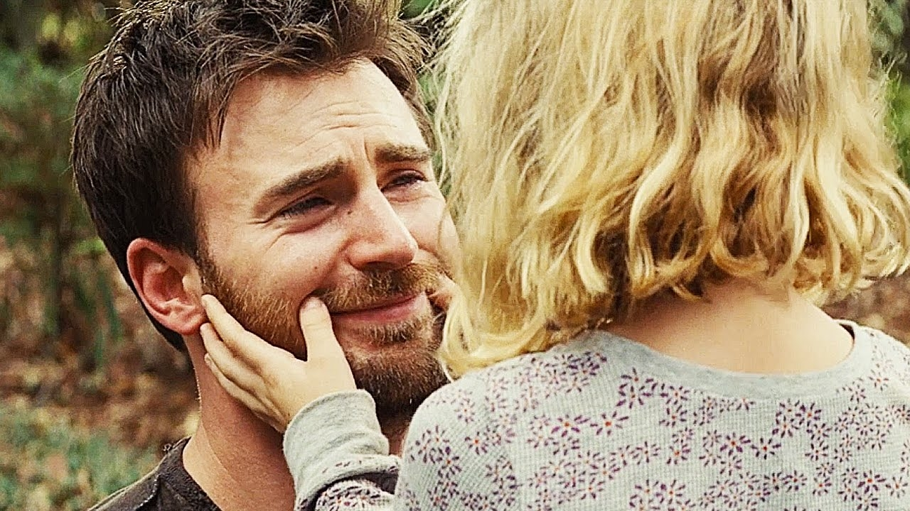 "chris evans und mackenna grace in ""gifted"""