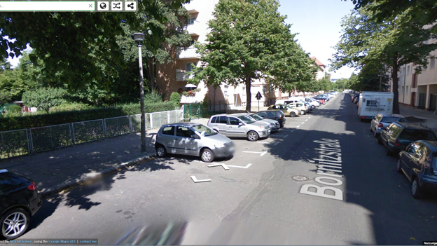 Screenshot: Google Maps: Street View